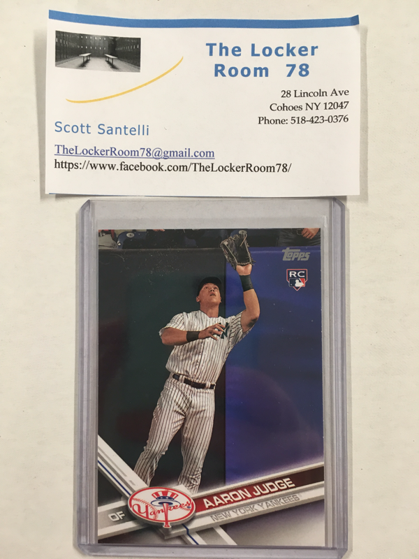 2017 Topps Aaron Judge Rookie Card