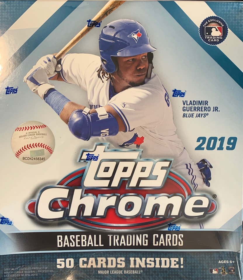 2019 Topps Chrome Baseball Mega Box 10 Packs 2 Exclusive Parallel Packs X Fractor Exclusive